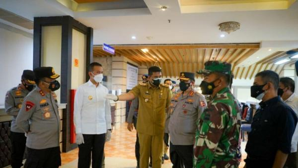 Penghuni Isoter Covid-19 di Kota Medan Tinggal 8 Orang