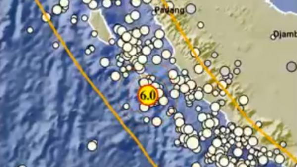 Gempa Mukomuko Dipicu Aktivitas Lempeng Indo-Australia