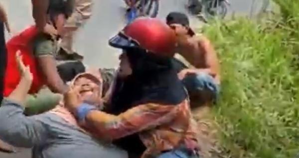 Kecelakaan Maut di Bandarlampung, Kakak Adik Tewas Terlindas Truk Tanah