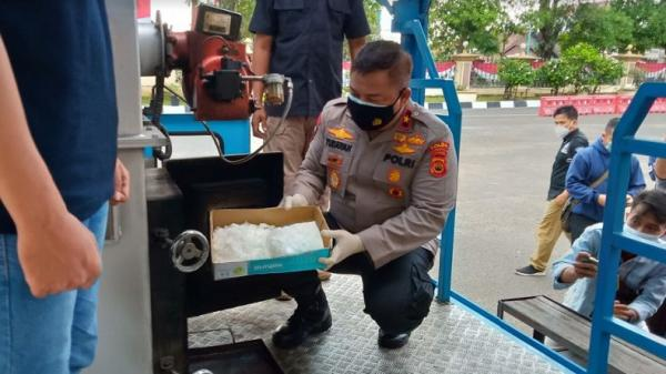 Polda Jambi Musnahkan 13,5 Kg Sabu, 9 Tersangka Ditangkap