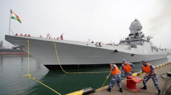 Laut China Selatan Memanas, India Ikut Kirim 4 Kapal Perang