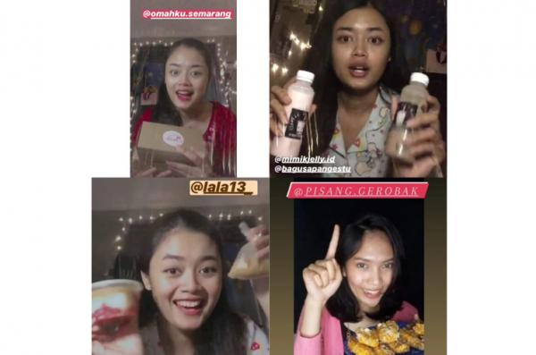 Seru, Mahasiswi Cantik Ini Berlomba Jadi Influencer Promosikan Produk UMKM Jateng