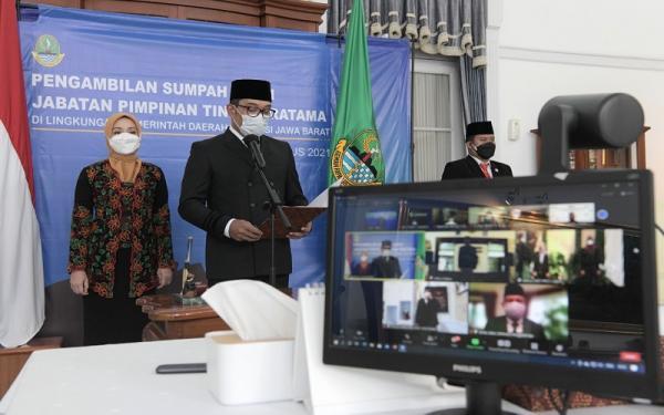 3 Pejabat Pemprov Jabar Dirotasi, Ridwan Kamil: Tak Usah Adaptasi, Langsung Kerja