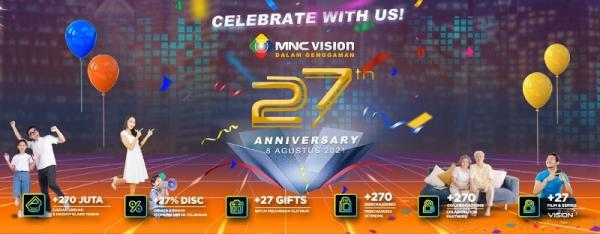 Andmesh Meriahkan Perayaan HUT ke-27 MNC Vision