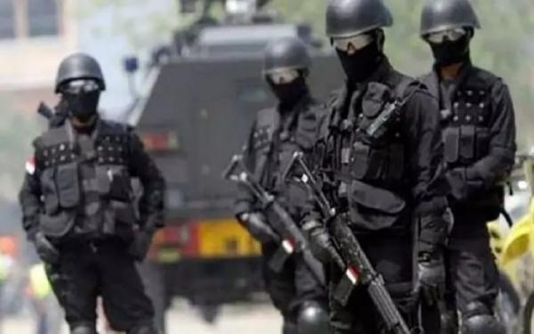 Densus Tangkap 4 Terduga Teroris Jaringan Jamaah Islamiyah di Sulteng