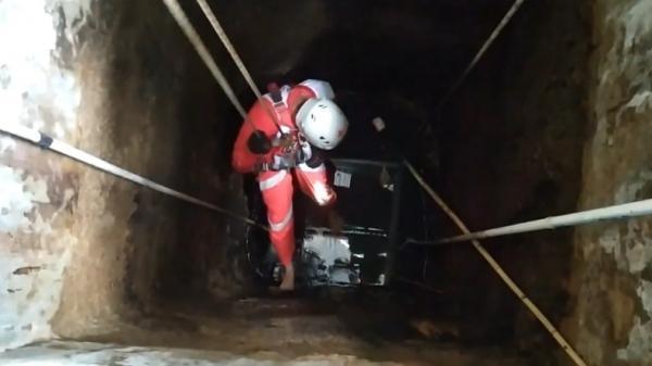 Kucing di Bukittinggi Mati akibat Tenggelam di Sumur 8 Meter, Evakuasi Dramatis