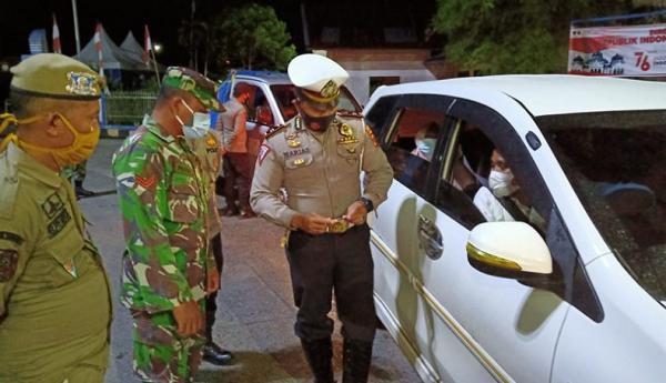 Polda Aceh Perketat Pelintas dari Sumut, Puluhan Kendaraan Diputar Balik