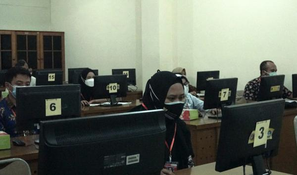 536 Orang Bersaing dalam Tes Seleksi Perangkat Desa di Kabupaten Semarang
