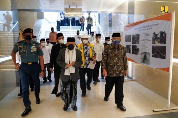 Ditargetkan Selesai Bulan Depan, Ini Penampakan Terowongan Silaturahmi Masjid Istiqlal dan Gereja Katedral Jakarta