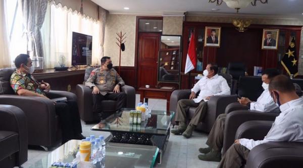 Kabinda Aceh Sambangi Kapolda, Perkuat Soliditas