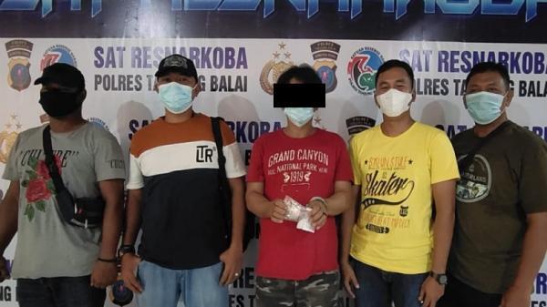 Bandar Sabu di Tanjungbalai Ditangkap Polisi