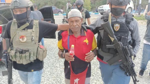 Teroris KKB Papua Ditangkap saat Hendak Naik Taksi