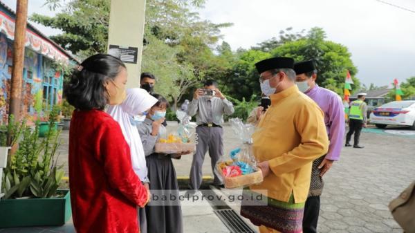 Gubernur Erzaldi Motivasi Anak Berkebutuhan Khusus di Bangka Barat