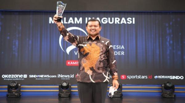 Bupati Sumedang Raih Penghargaan Indonesia Visionary Leader, Dony: Ini Apresiasi Luar Biasa