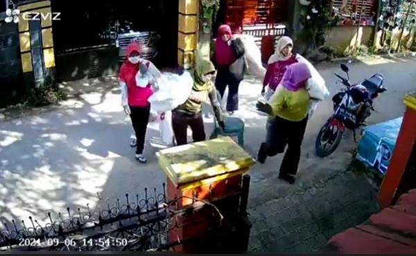 Viral Emak-Emak Pemulung Jarah Rumah Warga, Diminta Buat Surat Pernyataan