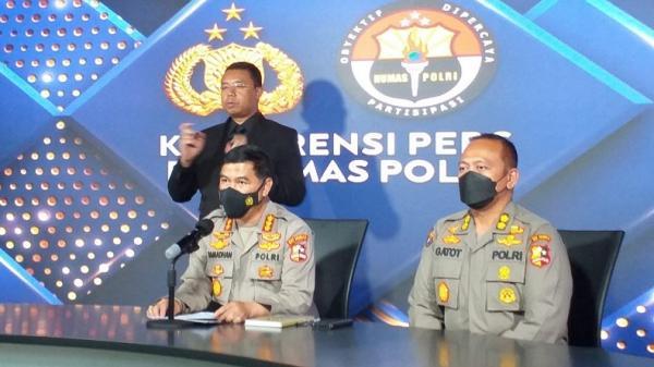 Densus 88 Antiteror Polri Tangkap Terduga Teroris di Grogol Petamburan