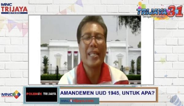 Soal Amendemen UUD 1945, Istana Tegaskan Jokowi Tolak Wacana Jabatan Presiden 3 Periode