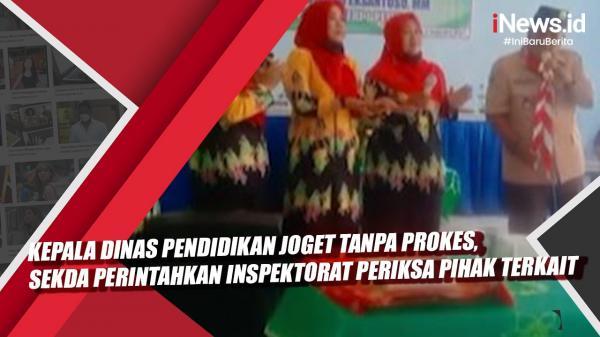 Video Viral Kepala Dinas Pendidikan Joget Tanpa Prokes, Sekda Perintahkan Inspektorat Periksa Pihak Terkait