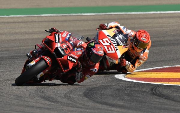Hasil MotoGP Aragon 2021: Francesco Bagnaia Juara, Marc Marquez Kedua