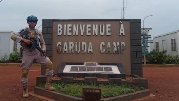 Bripka Syaifullah Yusran, Personel Polres Gowa yang Bertugas di Afrika