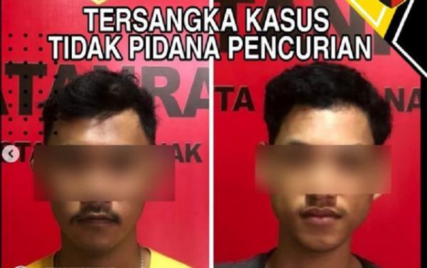 Curi 11 Tabung Oksigen RS Bhayangkara, 2 Pemuda Pontianak Ditangkap Polisi