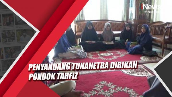 Penyandang Tunanetra Dirikan Pondok Tahfiz di Lima Puluh Kota