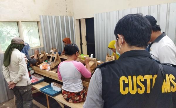 KPP Bea Cukai Malang Sita 10,7 Juta Rokok Ilegal senilai Rp5,1 Miliar