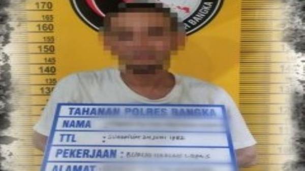 Polisi Tangkap Pengedar Narkoba di Bangka, Modus Jual Beli Sabu dengan Cara Dilempar