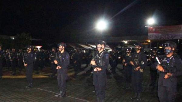 Ratusan Personel Brimob Polda Jambi Dikirim ke Poso, Kapolda Minta Waspada