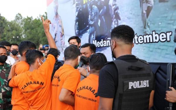 Fakta-Fakta Perampokan Emas 6,8 Kg di Medan, Nomor 3 Pelaku Tutup Sidik Jari Pakai Plester