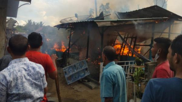 Rumah di Aceh Utara Ludes Terbakar, Diduga karena Korsleting Listrik