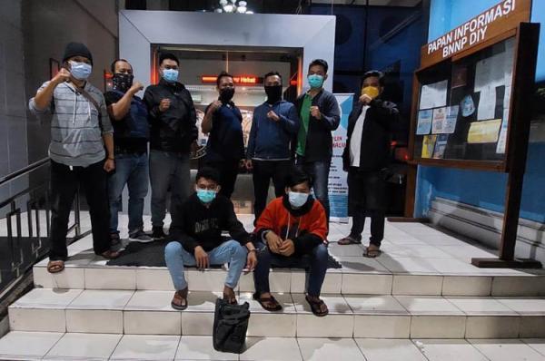 2 Kurir Narkoba Ditangkap BNNP DIY, Bandar Ditahan di Lapas Sragen