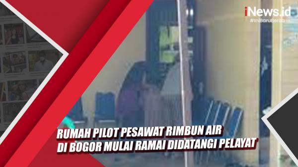 Video Rumah Pilot Pesawat Rimbun Air di Bogor Mulai Ramai Didatangi Pelayat