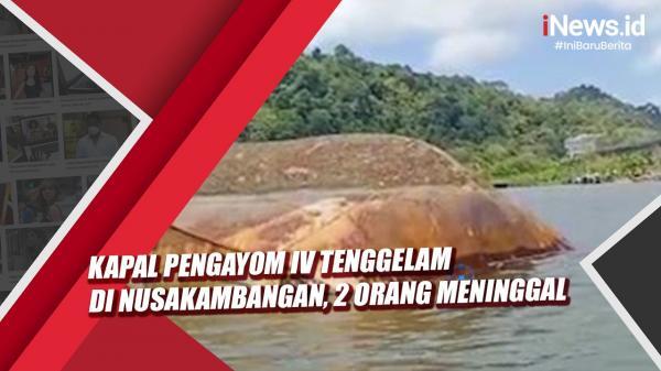Video Kapal Pengayom IV Tenggelam di Nusakambangan, 2 Orang Meninggal