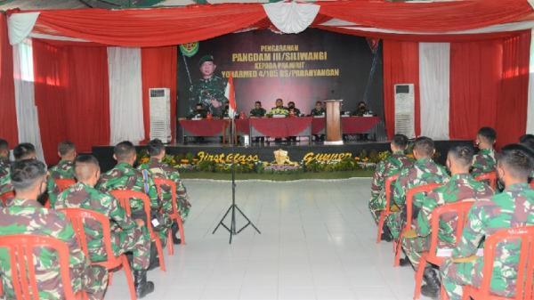 Pangdam Siliwangi: Prajurit Yonarmed-4/105 GS Harus Mahir Bela Diri