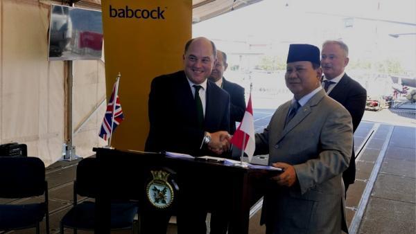 Wow, Kapal Perang Canggih Inggris Akan Dibangun di Indonesia