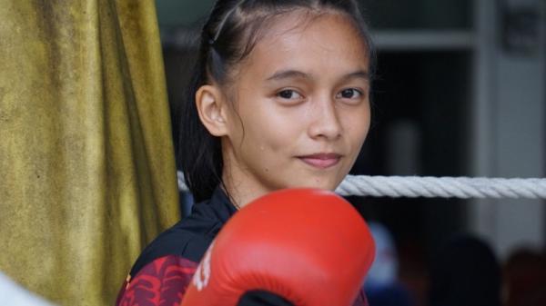 Silfana Mahmud, Atlet Cantik Jago Bela Diri Incar Emas Cabang Olahraga Muay Thai
