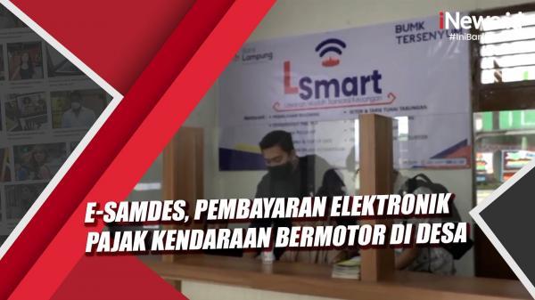 e-Samdes, Pelopor Pembayaran Pajak Kendaraan Bermotor Secara Elektronik di Desa