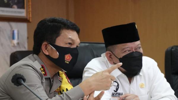 Polda Jatim akan Asuh 7.044 Anak Yatim Piatu Korban Covid-19, La Nyalla Sampaikan Apresiasi