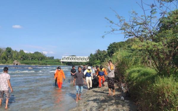 Warga Asal Jawa Barat yang Hilang di Sungai Ogan Ditemukan Meninggal Dunia