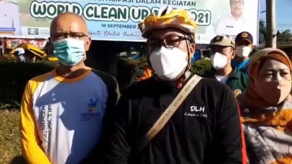 World Clean Up Day 2021, Warga Cianjur Diajak Bersih-bersih Aliran Sungai
