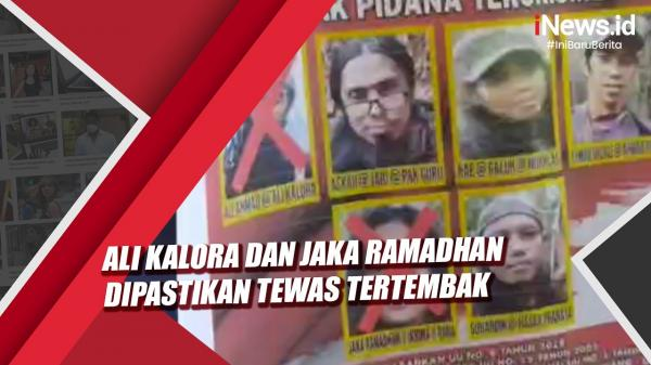 Video Kasatgas Madago Raya Pastikan Ali Kalora dan Jaka Ramadhan Tewas Tertembak
