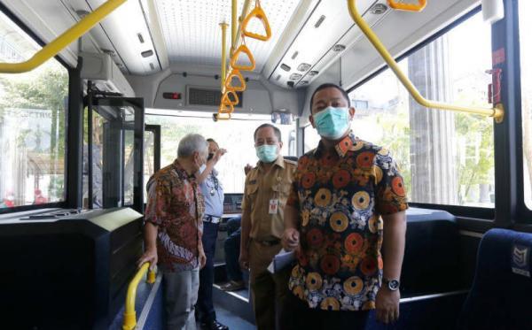 Bus Listrik Diuji Coba di Jalan Menanjak, Wali Kota Semarang: Aman dan Nyaman