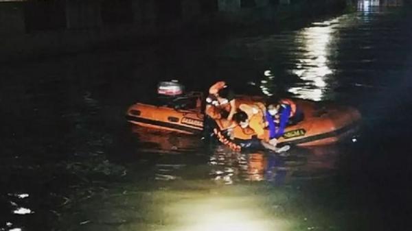 Jasad Pria Tenggelam di Kali Item Ditemukan Radius 11 Meter dari Lokasi Kejadian