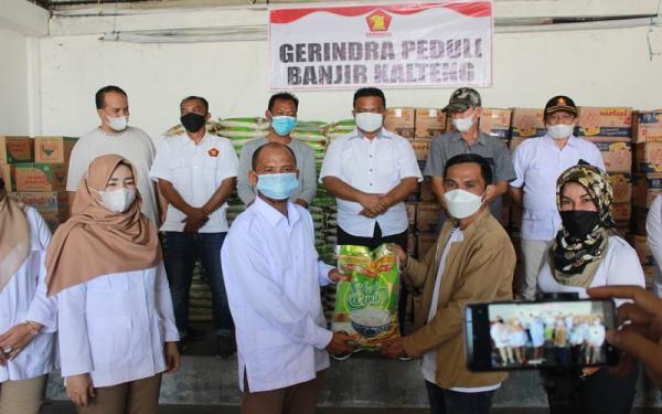 Gaji Anggota DPR Fraksi Gerindra Dipotong untuk Bantu Korban Banjir di Kalteng