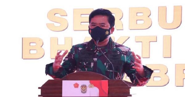 Hadiri Vaksinasi Covid-19 Alumni Akabri 98, Panglima TNI Ingatkan Disiplin Prokes