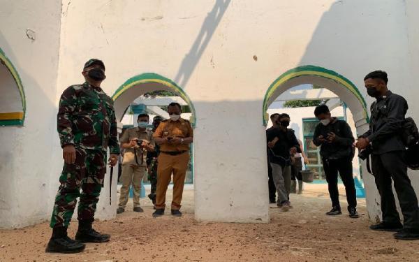 Kodam III/Siliwangi Renovasi Masjid Berusia 91 Tahun di Cilegon Banten