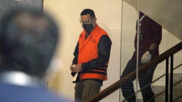 Mantan Mensos Juliari Batubara Dieksekusi ke Lapas Tangerang