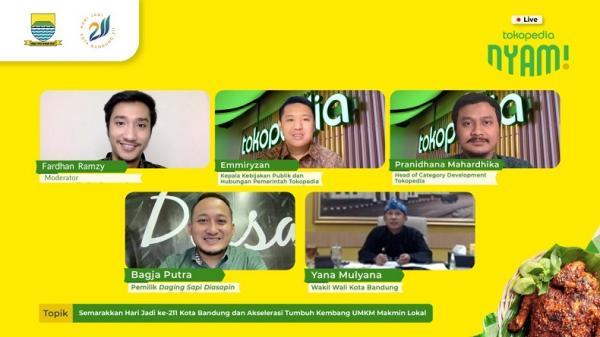Semarak HUT ke-211, Pemkot Bandung Dorong UMKM Manfaatkan Teknologi