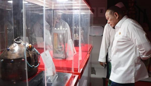 Lihat Artefak Peninggalan Nabi, LaNyalla Berharap Bisa Meneladani